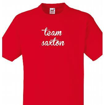 Team Saxton Red T shirt