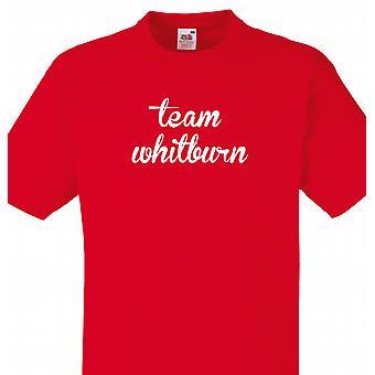 Team Whitburn Red T shirt