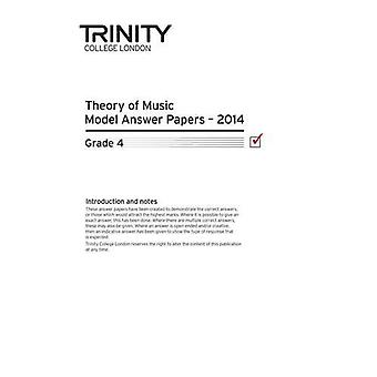 Trinity College London Music Theory Model Answers Paper (2014) Grade 4