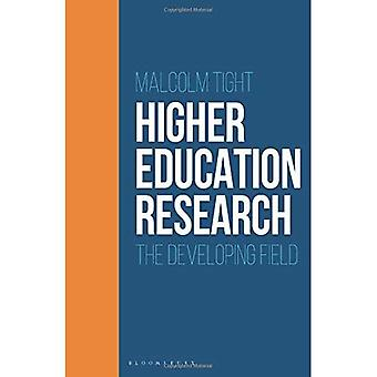 Higher Education Research: The Developing Field