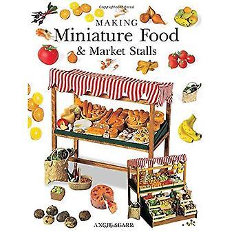 Maken van miniatuur voedsel & markt kraampjes