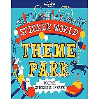 Autocollant World - parc d'attractions (Lonely Planet Kids)