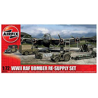Airfix 1:72 Scale WWII RAF Bomber Re-supply Set Model Kit