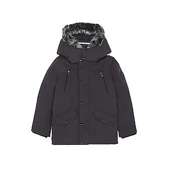 Boss Hugo Boss Boys Grey Parka Coat