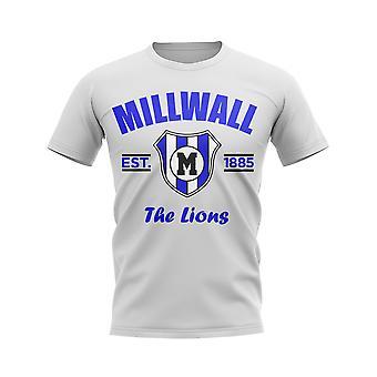 Millwall Established Football T-Shirt (White)