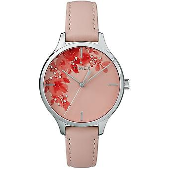 Timex ladies watch crystal bloom 36 mm leather bracelet TW2R66600