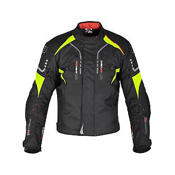Oxford Black-fluorescente Misano giubbotto moto impermeabile
