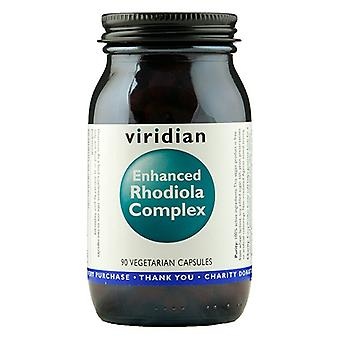 Viridian Enhanced Rhodiola Complex 90 Veg Caps