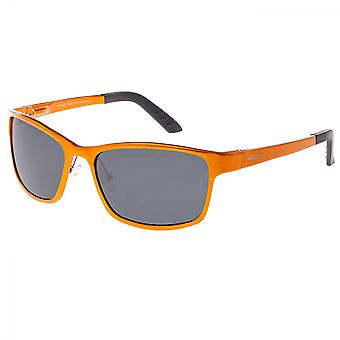 Breed Hydra Aluminium Polarized Sunglasses - Orange/Black