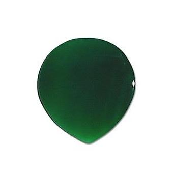 Pickboy Exotic Guitar Picks/Plectrums Natural Stone Hand Made Standard - Green Agate Small 2mm