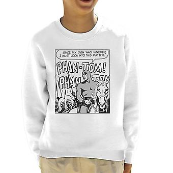 The Phantom Cheering Crowds Kid's Sweatshirt