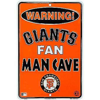 San Francisco Giants MLB Fan Man Cave Parking Sign