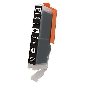 CLI-671XL Black Premium Compatible Inkjet Cartridge