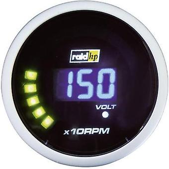 raid hp Tachometer 0 to 10000rpm 12V