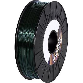 Filament Innofil 3D PLA-0025B075 PLA plastic 2.85 mm Dark green (translucent) 750 g