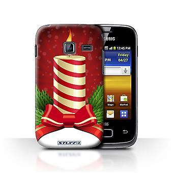 STUFF4 Tilfelle/Cover for Samsung Galaxy Y Duos/S6102/lys/Advent/Christmas dekorasjoner