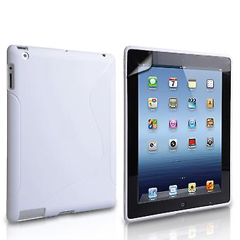 Caseflex Apple iPad Mini 2, 3 SLine Gel Case White