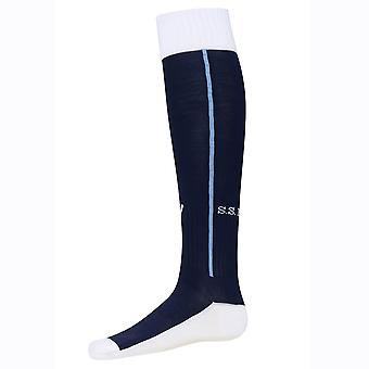 2016-2017 Lazio Away Macron Socks (Navy)