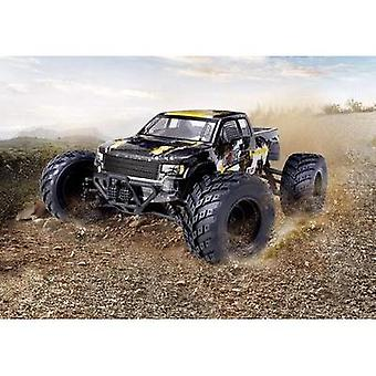 Reely Core Brushed 1:10 XS RC model car Electric Monster truck 4WD RtR 2,4 GHz