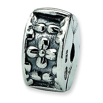 Sterling Silver Reflections Kids Floral Clip Bead Charm