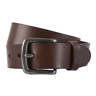 ALBERTO belt leather men's belts Leather Brown 1924
