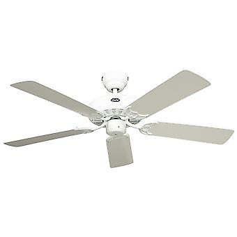 Ceiling fan Classic ROYAL White with pull cord 75 cm to 180 cm / 30