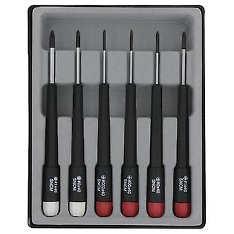 Electrical & precision engineering Screwdriver set 6-piece Donau Phillips, Pozidriv