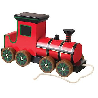 Orange Tree Toys Pull Along Steam Train