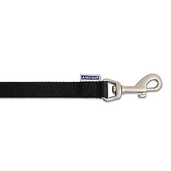Heritage Nylon Padded Lead Black 25mm X1m
