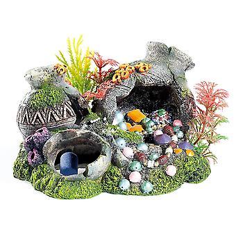 Classic Aquatic Artefacts Jars With Plants & Air 180mm
