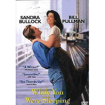 While You Were Sleeping [DVD] USA import