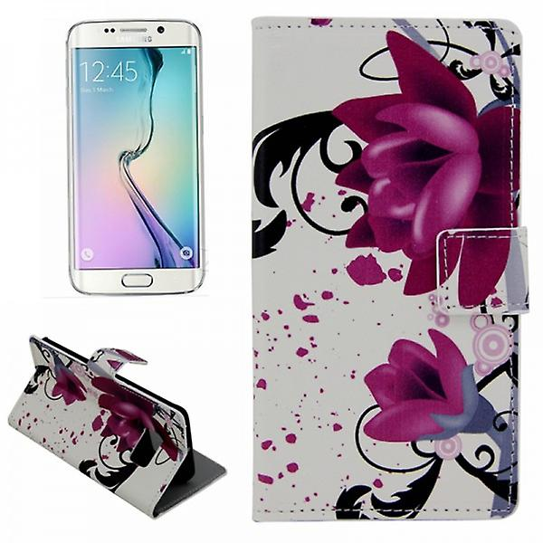 Cover wallet pattern 3 for Samsung Galaxy S6 edge G925 G925F