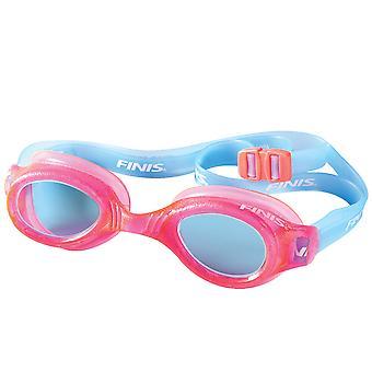 FINIS H2 Junior Swim Goggles - Pink/Aqua
