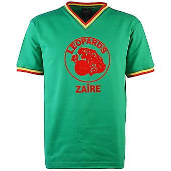 Zaire V-Neck 1974 World Cup Retro Football Shirt