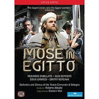 G. Rossini - Mose i Egitto [DVD] USA import