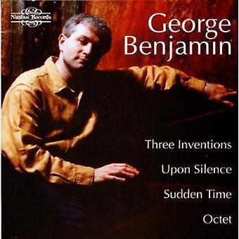 G. Benjamin - George Benjamin: Drei Erfindungen; Nach Stille; Plötzliche Zeit; Oktett [CD] USA import