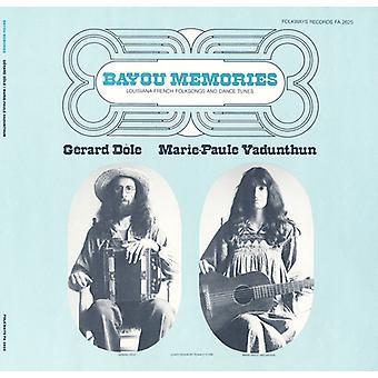 Gerard Dile - Bayou recuerdos: importación de los E.e.u.u. de Luisiana francés canciones folclóricas y baile [CD]