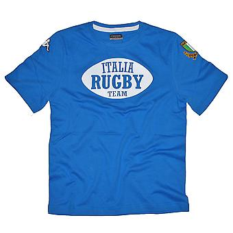 KAPPA Italy rugby norok training  t-shirt [blue]