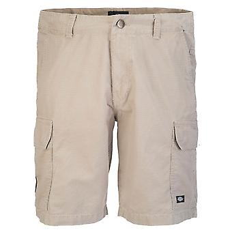DICKIES Mens New York Short – Khaki Work Shorts 01 220065 mens workwear