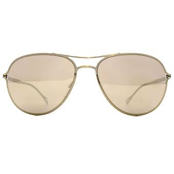 Paul Smith Surrey Sunglasses In Antique Gold