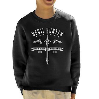 Djævelen Hunter Devil May Cry børne Sweatshirt