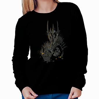 The Dark Lord Sauron The One Ring Lord Of The Rings Women's Sweatshirt