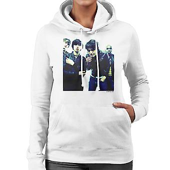 The Libertines Pete Doherty Smoking Women's Hooded Sweatshirt