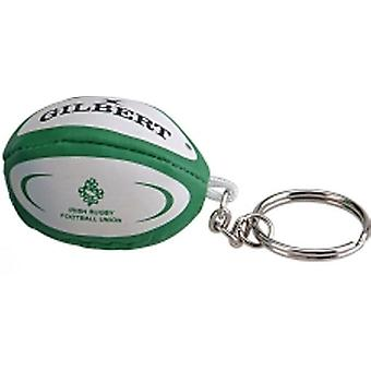 GILBERT ireland rugby ball key ring