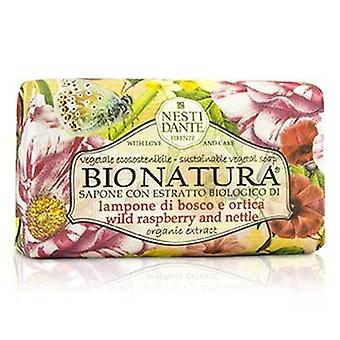 Bio Natura Sustainable Vegetal Soap - Wild Raspberry & Nettle - 250g/8.8oz