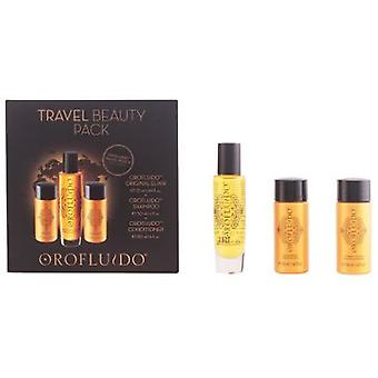 Orofluido Travel Beauty Lot 3 Pieces (Igiene e salute , Doccia e bagno , Shampoo)