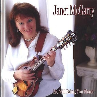 Janet McGarry - He Will Bring You Home [CD] USA import