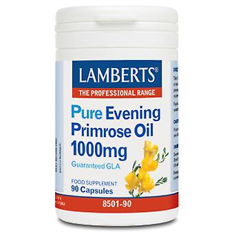 Lamberts Pure Evening Primrose Oil 90 Capsules 1000 mg