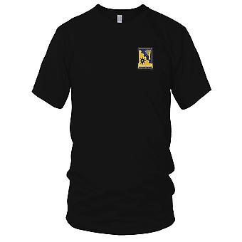 US Army - 114th Cavalry Regiment Embroidered Patch - Ladies T Shirt