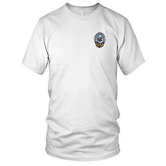 E.U. Marinha CVS-20 USS Bennington bordada Patch - Mens T-Shirt